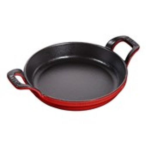 Staub Kerek sütőtál cherry 16 cm, 0,4 l