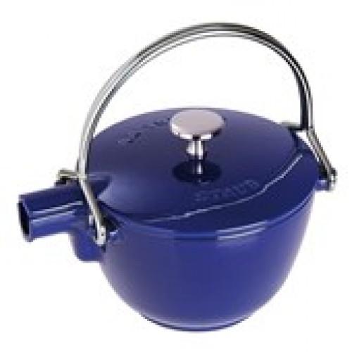 Staub Vízforraló-Teafőző teatojással mély kék 16,5 cm, 1,15 l