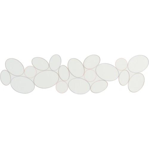 Sander Ring asztali futó ezüst bazsarózsa 23 x 162 cm