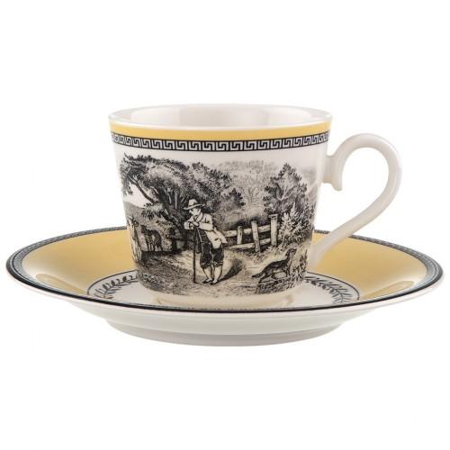 Audun Ferme kávés-teáscsésze + csészealj 0,20l