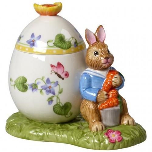 Bunny Tales tojás formájú tároló Max  11x7x10,5 cm