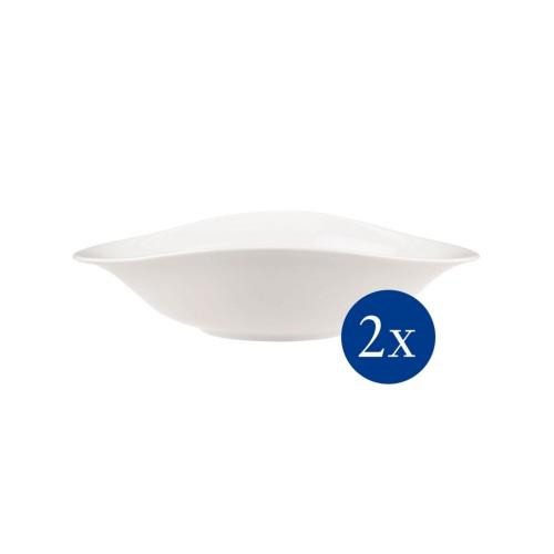 Vapiano pasztatányér 2 db 8 dl 27x21 cm